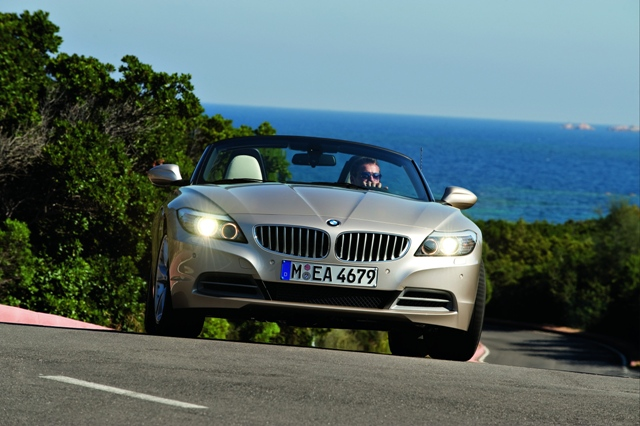 BMW Z4 ouverture