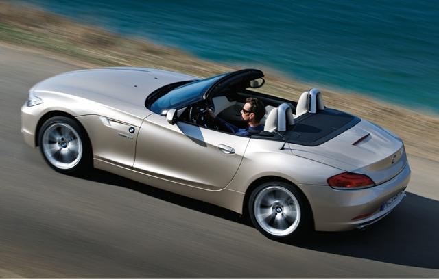 BMW Z4 arriere haut