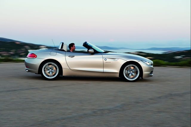 BMW Z4 flanc ouvert