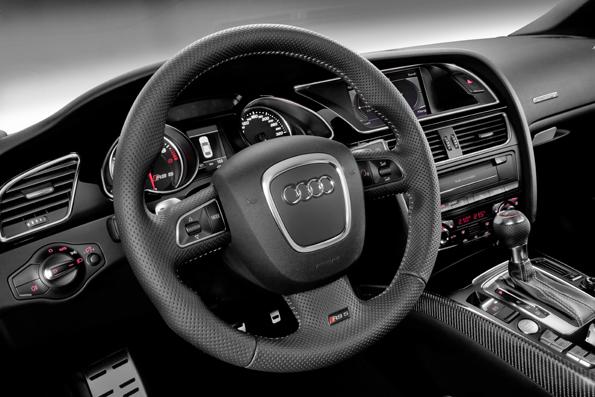 Audi RS5 cockpit