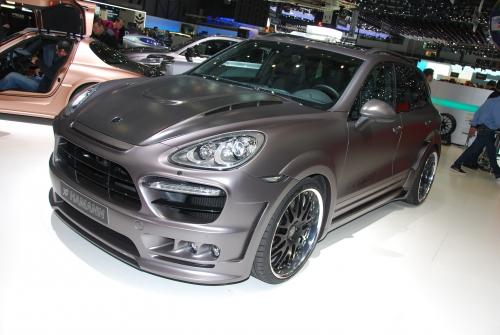 Hamman,SLS,AMG,Porsche,Cayenne,BMW,X6,Guardian,Salon,Geneve,2011
