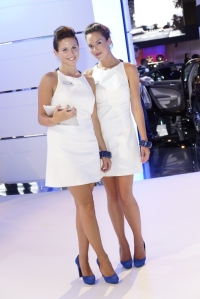 Hyundai,i30,berline,5 portes,nouvelle,new,2012,printemps,look,diesel,salon,francfort,filles,girls,mannequins,essence
