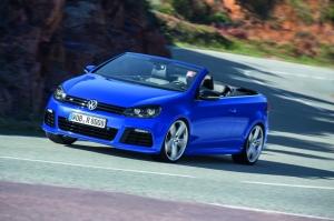 Volkswagen,Golf,R,Cabriolet,2.0,turbo,265 ch,350 Nm,découvrable,toile,ciel,toit,sportive,3 portes,salon,genève,2013,été