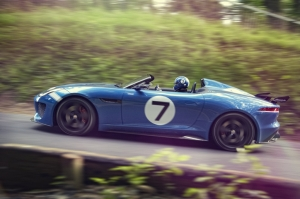 Jaguar,Project,7,prototype,concept,angleterre,UK,Royaume-Uni,Goodwood,Festival,roadster,speedster,5.0,V8,550 ch,