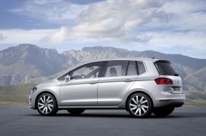 Volkswagen,Sportvan,new,Golf,Plus,monovolume,grande,TSI,TDI,new,2013,Salon,Francfort