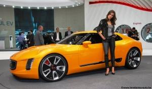kia,salon,genève,motorshow,GT4,stinger,coupé,concept,2.0,turbo,315 ch,next,future,fille,girls,mannequins,MILF