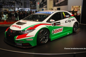 Honda,Salon,Genève,2014,Civic,Type R,concept,WTCC,turbo,next,futur