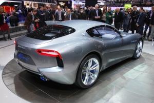 Maserati,alfierai,concept,surprise,salon,genève,2014,motorshow,italien,coupé,V8,atmosphérique,460 ch,propulsion,boîte,robotisée,projet