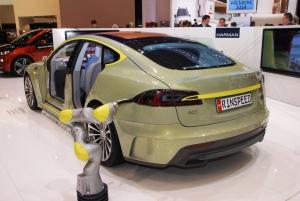 Salon,Genève,Rinspeed,Tesla,S,2014,autonome,salon,XchangE,concept,