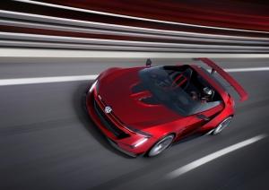 Volkswagen,VW,Golf,GTI,Roadster,Vision,Gran Turismo,Concept,cabriolet,extrême,3.0,V6,biturbo,500 ch,560 Nm