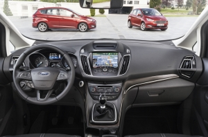 Ford,C-Max,Grand,nouveaux,new,style,restylage,paris,salon,mondial,2014,TDCI,ECOBOOST,