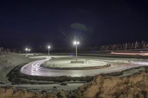 goodyear,dunlop,essais,pneus,hiver,neige,artic,center,inauguration,piste,tests,nord,grand,froid,finlande,vatanen