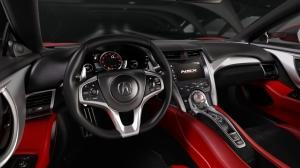 Honda,NSX,new,nouvelle,salon,détroit,2015,USA,coupé,moteur,central,V6,hybride,550 ch,boîte,double,embrayage,8 rapports