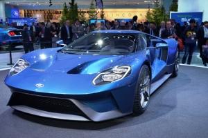 Ford,GT,2016,V6,3.5,biturbo,ecoboost,600 ch,propulsion,nouvelle,new,salon,detroit,europe,