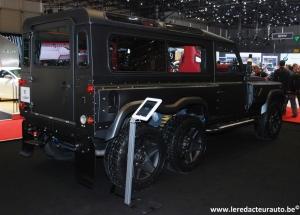 Kahn,Long Nose,Huntsman,Defender,Land Rover,Range Rover,tuning,anglais,4x4,extrême,6x6,salon,Genève,2015