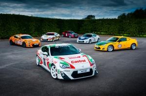 Toyota,GT86,livrées,historiques,Goodwood,festival,hommage,WRC,IMSA,2000,GT,Celica,Supra,modifiées,tuning,UK,angleterre