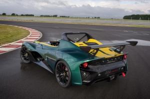 Lotus,3-11,Eleven,Race,road,V6;3.5,compressé,Toyota,propulsion,barquette,cabriolet,sport,120.000,euros,nouvelle,new,piste,track,2015