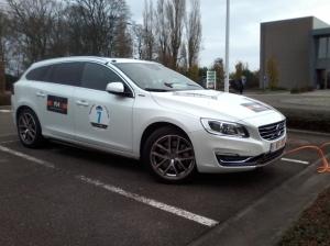 Volvo,V60,pHEV,5 cylindres,diesel,hybride,électrique,rechargeable,280 ch,4WD,AWD,rallye,roue,de,belgique,TdB,2015,New,Energy,Lays,Halleux
