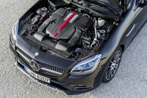 Mercedes,SLC,43,AMG,roadster,coupé,cabriolet,nouveau,new,lifting,génération,20,ans,2016