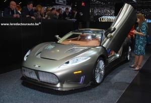 Spyker,Salon,Genève,2016,renaissance,C8,Preliaptor,V8,audi,525 ch,1390 kg,325.000€,GT,supercar,