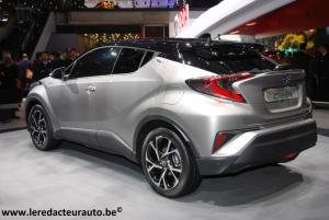 Salon,Genève,2016,Toyota,SUV,new,nouveau,C-HR,hybrid,essence