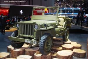 Jeep,histoire,anniversaire,75,ans,fêter,modèles,historique,wyllis,stand,salon,genève,2016