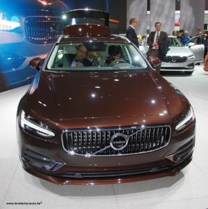 Geneva,Salon,2016,Volvo,S90,V90,premium,suede,berline,break,essence,diesel,hybride