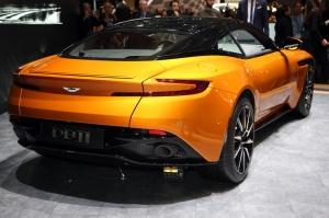 Aston,Martin,DB11,salon,Genève,2016,nouvelle,new,coupé,V12,600 ch,châssis,200.000,euros,prix,GT,UK,anglaise