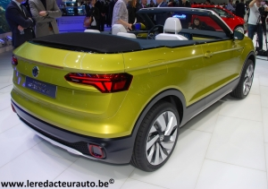 Salon,Genève,2016,Volkswagen,VW,T-Cross,Breez,concept,SUV,mini,cabriolet,4x4,allemand,coupé,