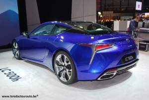 Lexus,Concept,LF-FC,hydrogène,premium,luxe,berline,limousine,next,futur,LC500h,coupé,hybride,350 ch,propulsion,salon,Genève,2016