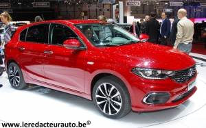 Fiat,Tipo,5 portes,berline,break,low cost,modèle,délcinaisons,salon,genève,2016,italien,124,spider