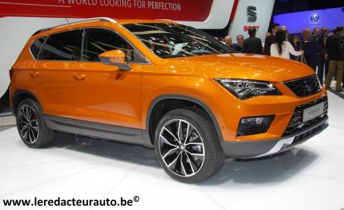 Seat,Salon,Genève,2016,Ateca,SUV,new,nouveau,compact,TDI,TSI,moteurs,été