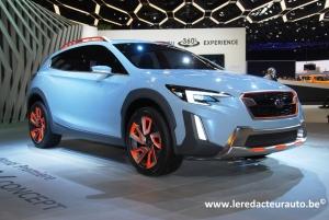 Salon,Genève,2016,Subaru,XV,concept,prochain,next,futur,japon,4wd,4x4