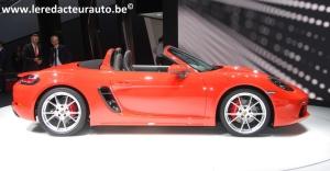 Porsche,911,R,salon,Genève,2016,nouveauté,spyder,718,histoire,500 ch