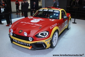 Salon,Genève,2016,Abarth,124,spider,Rally,new,concept,projet,170 ch,multiair