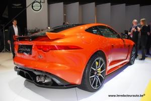 Jaguar,F-Type,SVR,V8,5.0,575,ch,puissance,accrue,4wd,322,km/h,salon,genève,2016