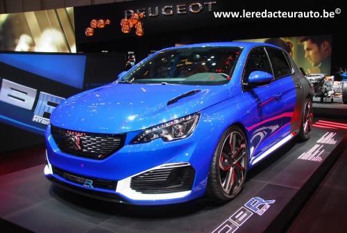 Peugeot,Salon,Genève,2016,308,GTI,Hybrid,nouvelle,sport,dynamioque,500ch,730Nm,5portes