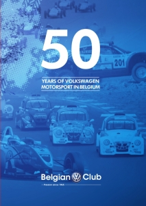 librairie,livres,belgique,thomas,bastin,50 ans,belgian,VW Club,publication,histoire,rallyes,circuit,compétition,monoplace,2016