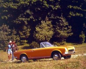 fiat,124,cabriolet,histoire,50,ans,cinquantenaire,salon,turin,patrimoine,italie