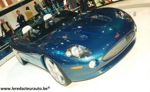 Jaguar,XK 180,concept,1998,mondial,paris,salon,présentation,anniversaire,50,ans,XK120,V8,compresseur,450,ch,propulsion,pirelli