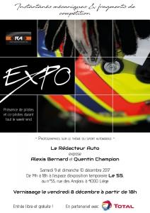 expo,photos,3è,édition,décembre,2017,affiche,agenda,quentin,champion,alexis,bernard,photographie,art,sport,automobile,rallyes,circuit,