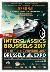 interclassics,brussels,heysel,salon,automobile,classique,ancêtre,musées,cinq,européens,beaulieu,schlumpf,musoe,turin,autoworld,louwman