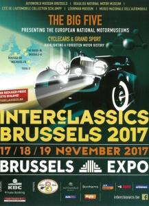 interclassics,brussels,2017,ancêtre,collection,vente,échange,enchères,porsche,BMW,Ferrari,Maserati,histoire,patrimoine