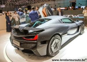 salon,Genève,GIMS,motorshow,nouveautés,rimac,GT,hypercar,supercar,électrique,croate,C-2