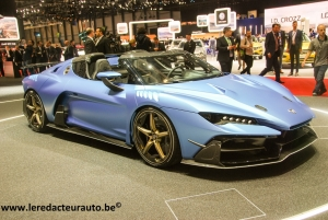 salon,Genève,GIMS,2018,new,concept,supercar,italdesign,Giugiaro,zerouno,duerta,roadster,new,V10,610ch,2millions