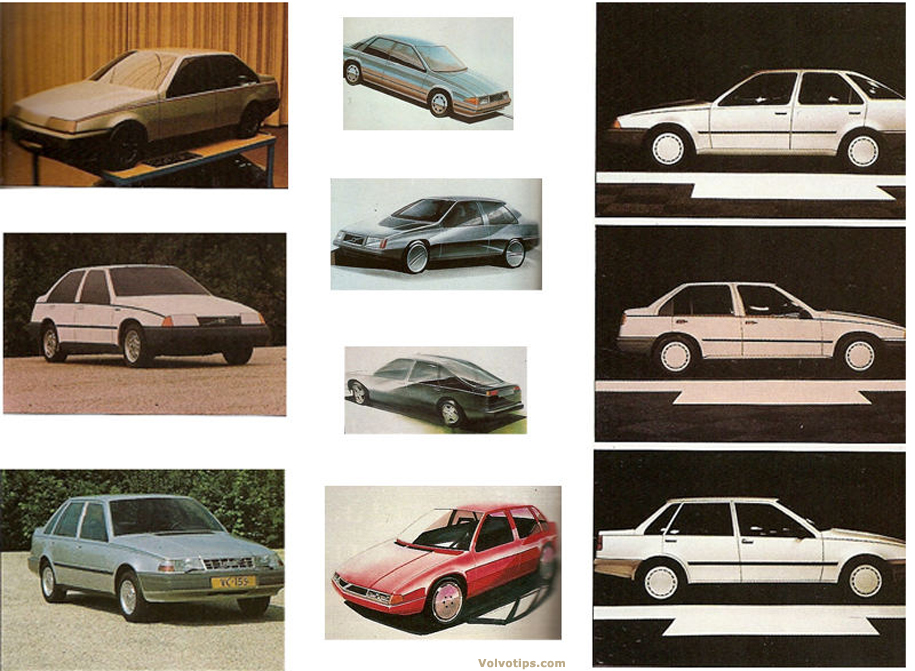 Volvo_440_prototype_proposals_sketches