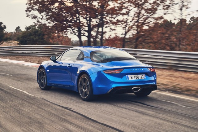 2017 - ALPINE A110 drive tests in Aix-en-Provence region