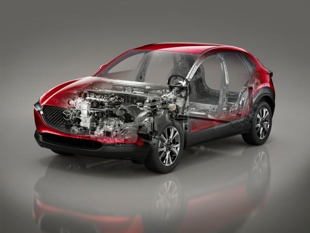 Mazda CX-30_Technical_See-through_SKYACTIV-X_LHD_MT