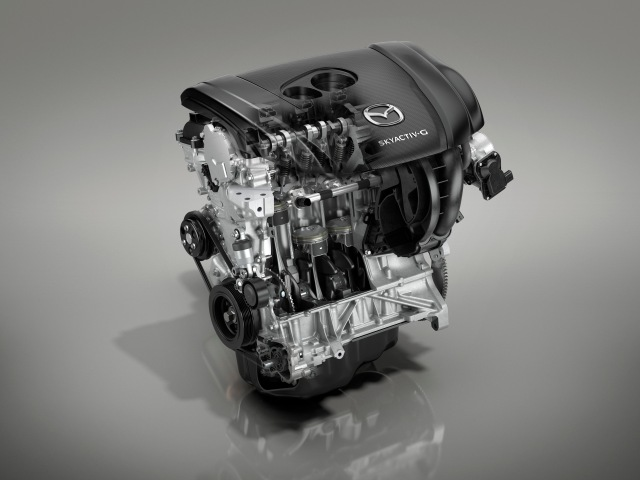 Mazda CX-30_Technical_SKYACTIV-G_2.0L_Skeleton