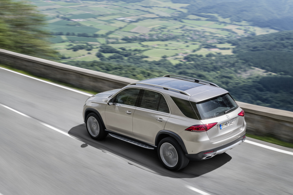 Der neue Mercedes-Benz GLE: Der SUV-Trendsetter, ganz neu durchdacht  The new Mercedes-Benz GLE: The SUV trendsetter completely reconceived